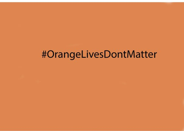Orange Lives Don't Matter Image
